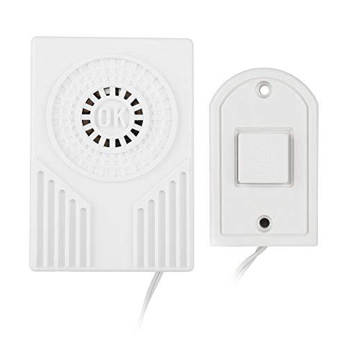 Homesafe elektronische bekabelde knop deurbel - alarm thuisbeveiliging voor thuis, kantoorgebouw, hotel, fabriek