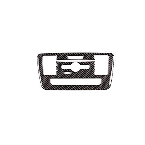 Wishful Fibra DE Carbono CD Aire ACONDICIONADOR DE Control DE Control Cubierta Ajuste para MERÉDES Benz A Clase GLA CLA 2016 2017 2018 2019 2019 (Color Name : Carbon Fiber)