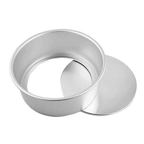 OZLXKNC Aluminum alloy Round Cheesecake Pan Bottom Bakeware DIY Cake MoldMaking Round Cakes, Chiffon Cake cheesecakes