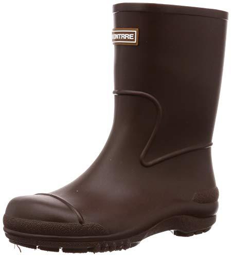 [アキレス] レインブーツ 長靴 軽量 日本製 14cm~21cm 2E キッズ 男の子 女の子 SCB 1070 ブラウン 14.0 cm