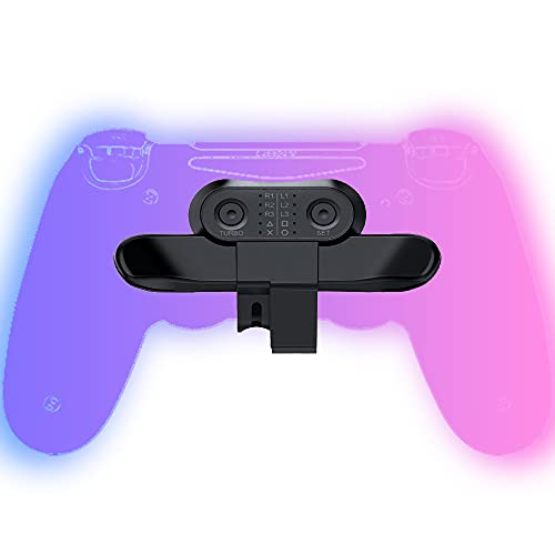 Rücktasten Ansatzstück für PS4 Controller, Strike Pack für PS4 mit Scuff Controller, PS4 Back Button Attachment, Ersatztasten Back Button für PS4 Gamepad,Accessoire für PS4 Controller, Plug and Play
