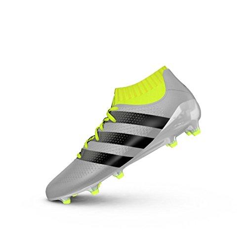adidas ACE 16.1 Primeknit FG - Fußballstiefel - Herren, Silber, 41 1/3