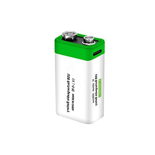 9v Akku 650m MAh Typ Li-Ionen 6F22 Wiederaufladbare Lithium-ionen Batterie Für Tastatur Mikrofon Rauchmelder