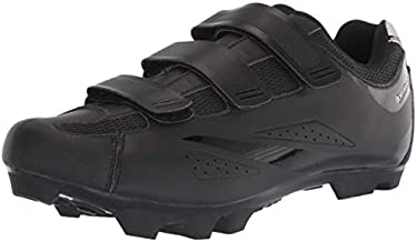 Tommaso Montagna 100 Men's Mountain Bike MTB Spin Cycling Shoe Compatible with SPD Cleats Black - 43