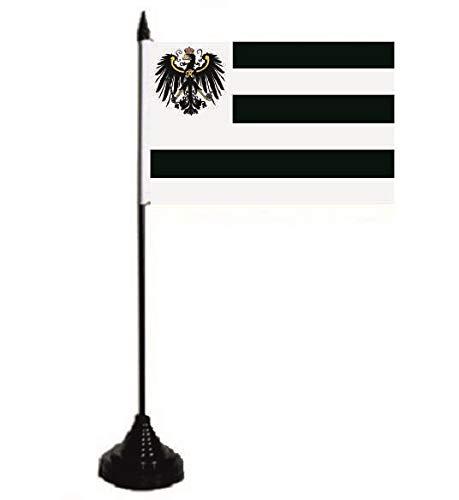 U24 Tischflagge Hohenzollern Fahne Flagge Tischfahne 10 x 15 cm