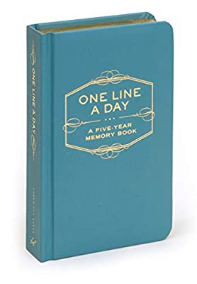 One Line A Day: A Five-Year Memory Book (5 Year Journal, Daily Journal, Yearly Journal, Memory Journal) by Chronicle Books
