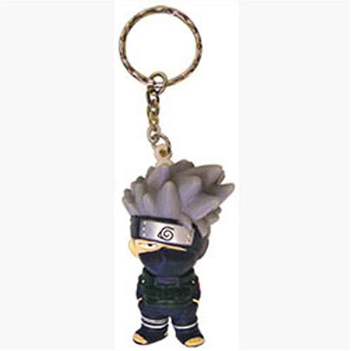 Great Eastern Entertainment Naruto Kakashi 3D Super Deform Keychain, 2'