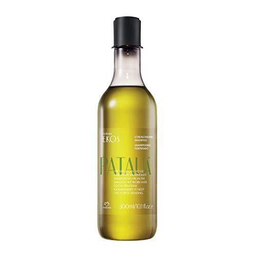 NATURA - Shampoing Fortifiant Pataua Natura Ekos - Pour Cheveux Fins et Fragiles - Nettoie en Douceur - Hydrate les Cheveux - 100% Vegan - Cruelty Free - Flacon 300 ml