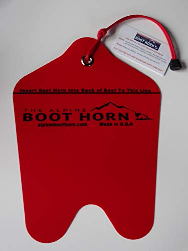Ski and Snowboard Boot Horn