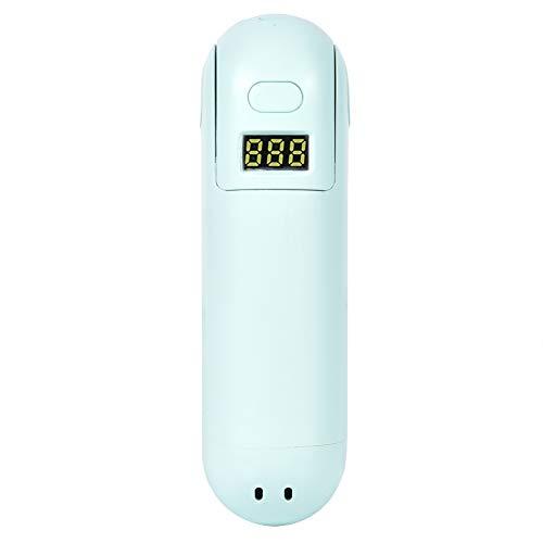 Surebuy Ventilador plegable, ventilador de la persona del color de la manera de la pantalla digital del LED para el aula para el dormitorio para la oficina