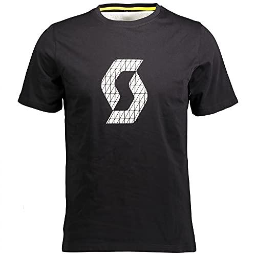 Scott Factory Wear Icon T-Shirt schwarz 2022: Größe: XXL (58)