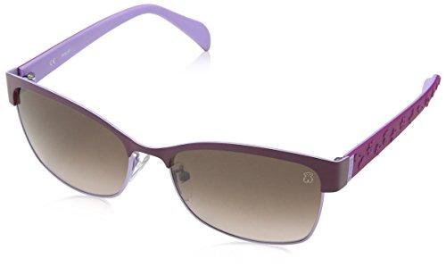 TOUS STO308-580SDT Gafas de sol, Shiny Lilac, 58 para Mujer