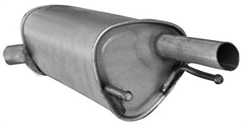 ETS-EXHAUST 51227 Silenziatore marmitta Posteriore pour CORSA B 1.0 HATCHBACK VAN 55hp 1997-2000 kit di montaggio
