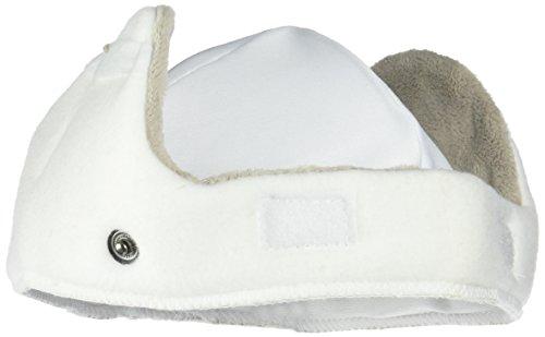 Bern Helm Winterinnenfutter Kinderhelme Nino/Nina Winter Fleece weiß (white) inkl. goggle clip ? Größe S/M