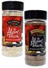 Alpine Touch Twin Pack (16oz All Purpose and 8oz Pepper Blend)