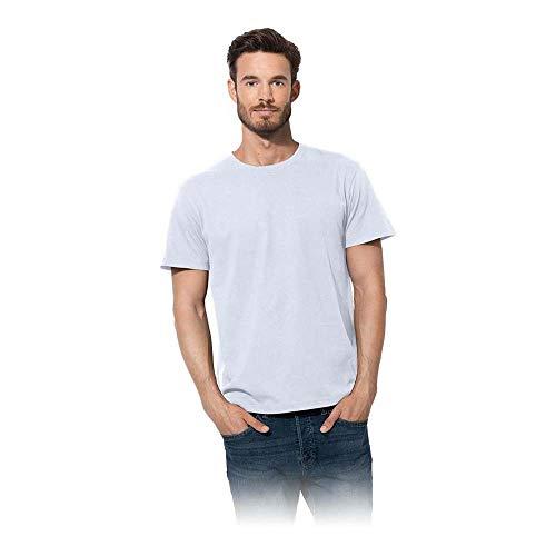 Stedman ST2000_WHIXL Basics T-Shirt, Weiß, XL Größe