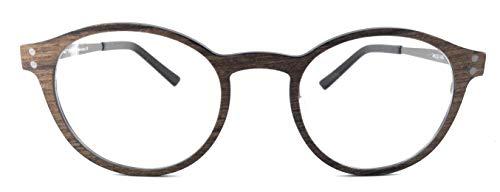 Eigensign Holzfassung Brille 5612 C2