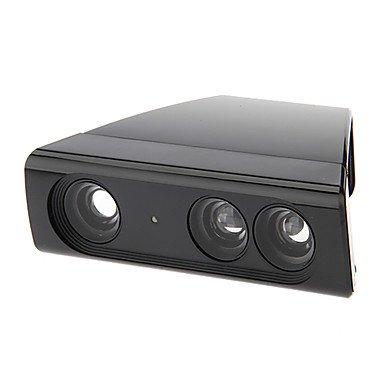 Zoom Play Range Reduktion Objektiv Weitwinkel-Adapter für Xbox 360 Kinect Sensor reduziert Platz (schwarz)