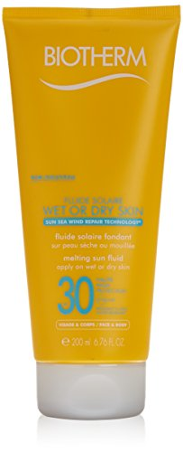 Biotherm Fluid Solaire Wet or Dry Skin SPF 30 200ml