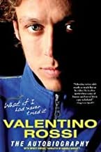 Valentino Rossi The Autobiography 1st (first) edition Text Only