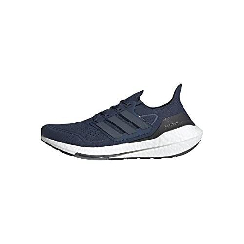 adidas mens Ultraboost 21 Running Shoes, Crew Navy/Crew...