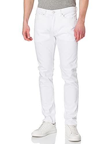 HUGO Herren 734 10228823 02 Jeans, White100, 3132