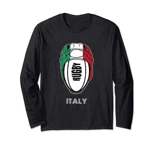 Tifosi italiani maglia unione kit regalo Italia rugby fan Maglia a Manica