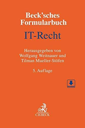Beck'sches Formularbuch IT-Recht