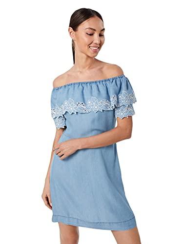 Pepe Jeans TATI Vestido  Azul (Blue 551)  Medium para Mujer