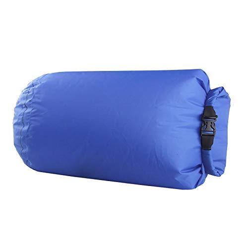 Bolsa seca de 80 l para camping, flotantes, kayak, rafting, impermeable, color azul