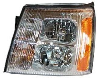 مجموعة مصباح أمامي جانبية لسائق الدراجة النارية من TYC Cadillac 20672000