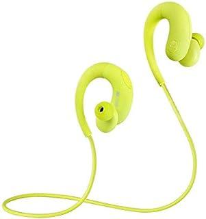 Sport Bluetooth Earbuds, Best Wireless Headphones for Sports Gym Running. IPX6 Waterproof Sweatproof, Fit Headset. Noise C...