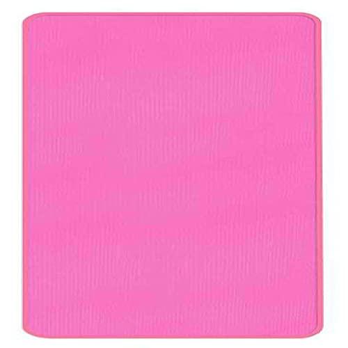 Exercisemat - Esterilla de yoga antideslizante de 8 mm de grosor, 183 cm x 61 cm, esterilla de gimnasia y pilates con bolsa de yoga y cinturón