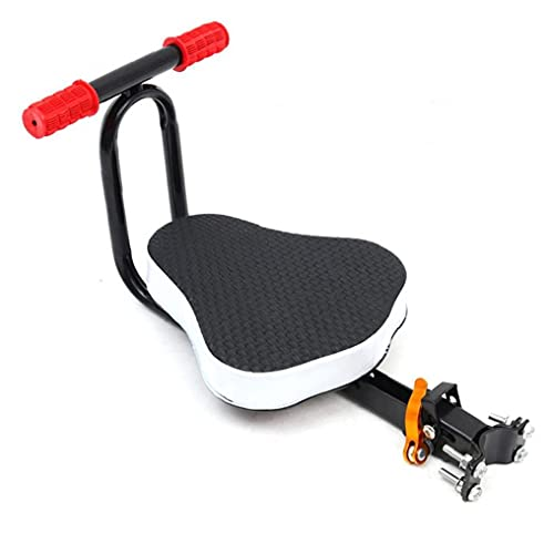 Bicicleta para niños Sillín de seguridad de seguridad Asiento de montaje frontal Plegable Lanzamiento rápido Silla de bebé Accesorios para bicicletas para buenas conducción