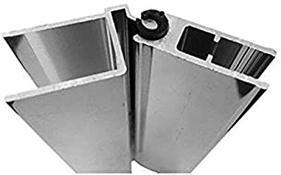 """Hinge Sleeve for Shower Doors with Continuous Hinge - 84"""" Long 