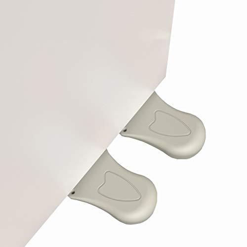 TYSC 2 paquetes de puerta de parada de puerta de parada creativa tope de pie de goma para la puerta antideslizante para el hogar y la oficina