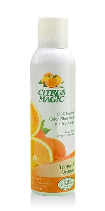 許されるボーダー咳シトラスマジック エア フレッシュナー オレンジ 207ml 果皮抽出オイルをギュッと詰めた消臭?芳香ルームスプレー