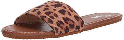 Billabong High Tide Slide Sandal, Cheetah, 10 Medium US