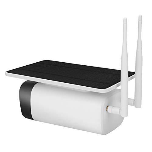 zcyg Cámara Cámara de vigilancia Cámara de Seguridad Cámara Solar, Cámara Solar De 1080p WiFi Wireless Outdoor Video Video Camcorder Vigilancia para La Seguridad del Hogar