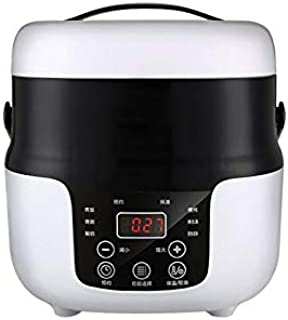 SHAAO 2L Smart Home Mini Rice Cooker Heating Rice Cooker Automatic Steamer Rack Multi-function Cooking Pot