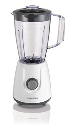 Morphy Richards 403052 BPA Free Plastic Table Blender 3 Speed Settings, 400 W, 1.5 liters