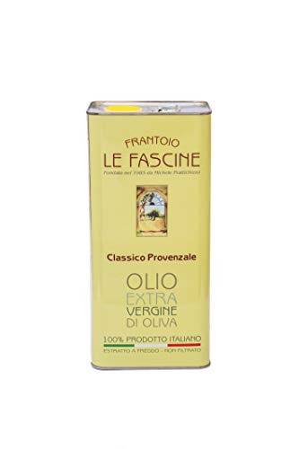 Le Fascine Natives Olivenöl Extra Virgin Extravirgin 100% Italienisch 5l (5 Liters) Olio Extravergine D'Oliva 100% Italiano