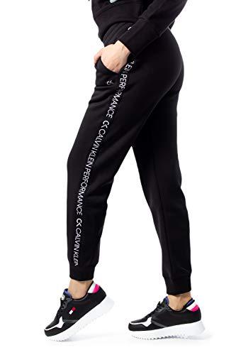 Calvin Klein Damen Taping Sweathose schwarz S