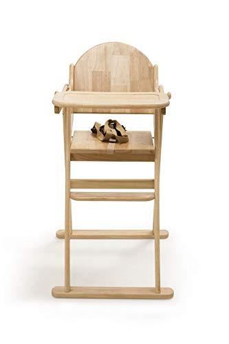 Safetots - Trona plegable de madera, color natural