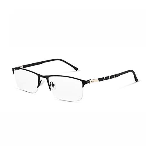 Yuzhijie - Gafas presbicias de alta definición de alta definición de alta gama de alta gama de lentes presbiciopía de Yuzhijie con zoom inteligente y casi de doble uso, color negro - +2.0