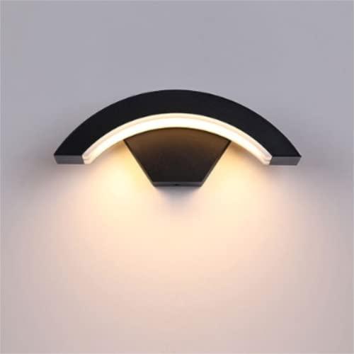 FMGR Aplique Pared Interior LED Lámpara De Pared Moderna para Salon Dormitorio Sala Pasillo Escalera,Autodetección,
