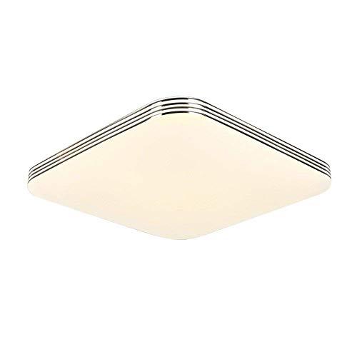 cucina ZHMA 36W Ultra sottile LED Bianco Freddo plafoniera moderno lampada da soffitto per soggiorno bagno hotel Super Luminoso Quadrato 300mm*300mm camera