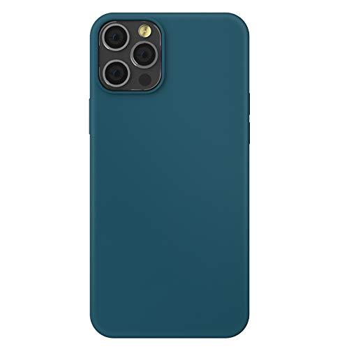 ZhinkArts Silikon Handyhülle kompatibel mit Apple iPhone 12/12 Pro - 6,1