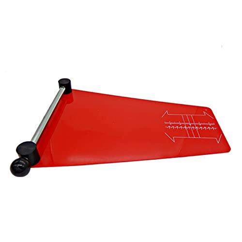 fdfd Herramienta Especial para medir el Punto de Equilibrio de la Raqueta, Accesorios de la máquina encordadora de Raquetas, Raqueta de Tenis y Tabla de Equilibrio de Ajuste de Raqueta de bádminton