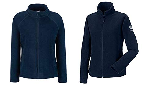 VW Damen Fleecejacke Gr. M, blau - 2620062202